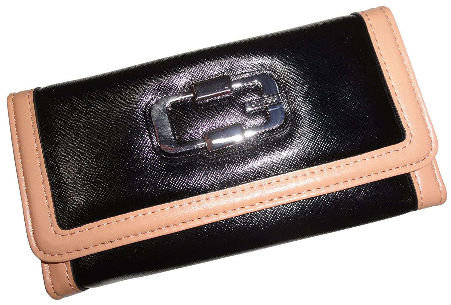 black guess wallets for women images