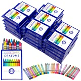 Crayons Bulk 36 Packs of 24 Count Vibrant Colors Teacher Quality Durable Classroom Pack for Kids Students Party Favors by Color Swell  (Color: Assorted Colors)