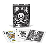 Bicycle Skull Poker Size Standard Index Playing Cards