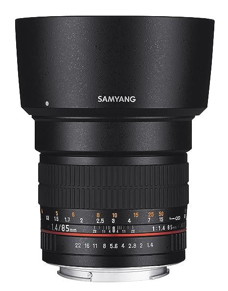 Samyang SAM85SONY Objectif 85 mm F1,4 pour Sony A Noir