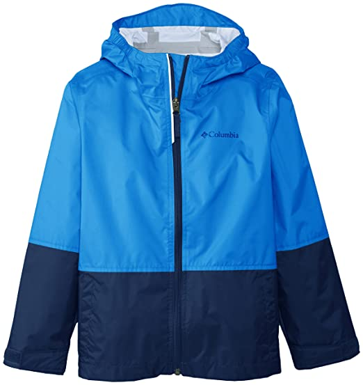Columbia Big Boys' Trail Trooper Rain Jacket