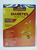 Nature Made Diabetes Health Pack with Lutein, Multivitamin and Minerals, 30 Packets (Pack of 2)