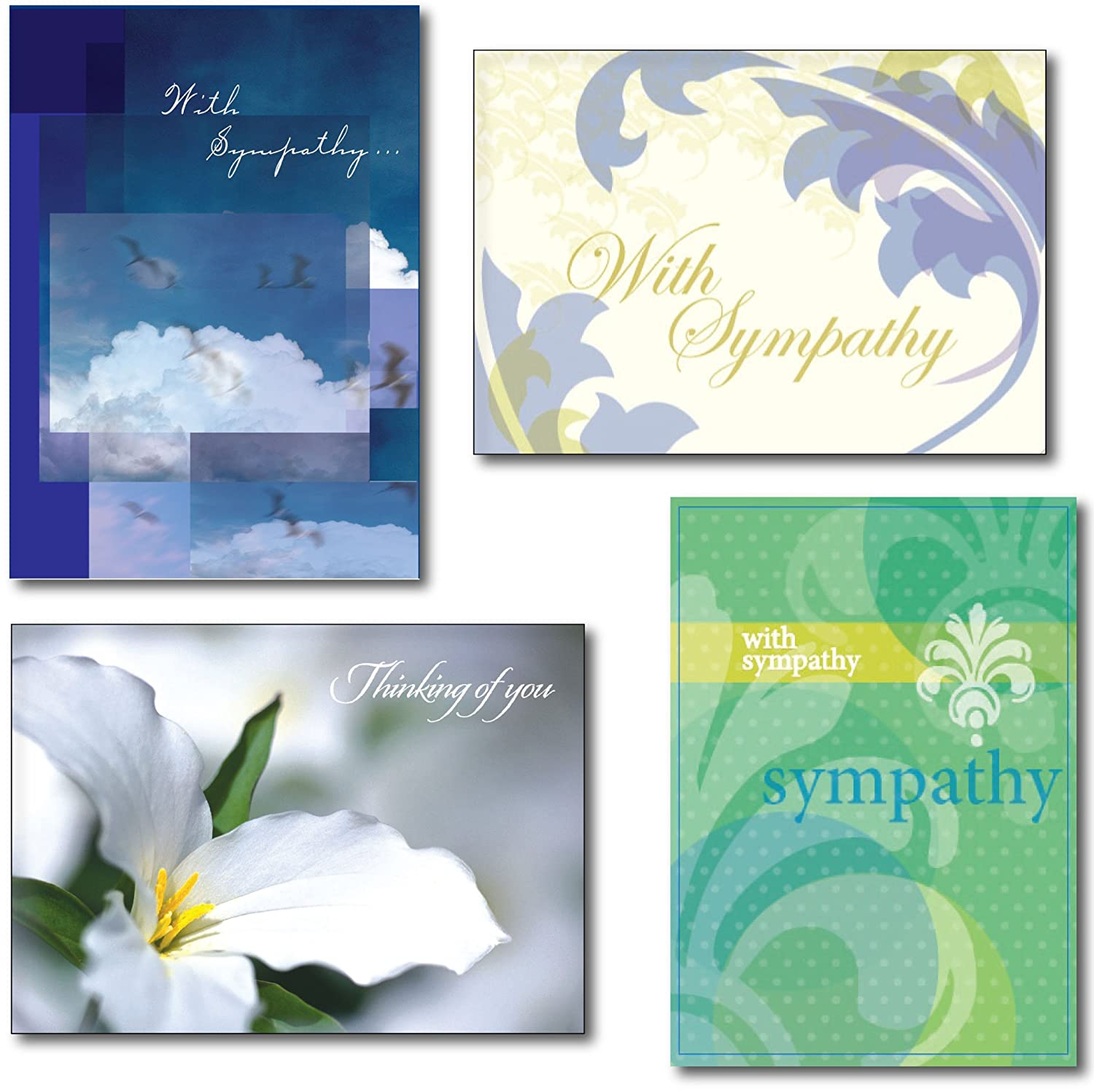 Sympathy card messages life support sympathy greeting card assortment m4hsunfo