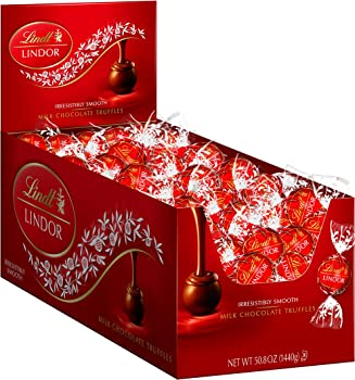 240-Count Lindt LINDOR Milk Chocolate Truffles
