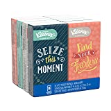 Kleenex Facial Tissues, On-The-Go Small Packs, Travel Size, 10 Tissues per Go Pack, 8 Packs (Color: White, Tamaño: 10 Count (Pack of 8))