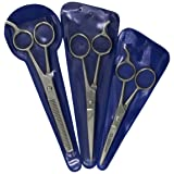 Hair Cutting Scissors Precision 3-piece Barber Shears Set