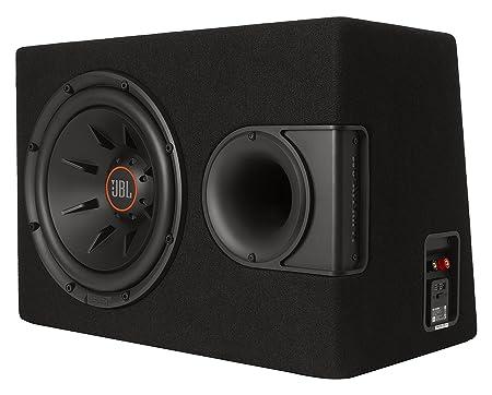 JBL S2-1224SS Système Audio Stéréo Subwoofer de 30 cm (12'') avec Technologie Exclusive SSI - Noir