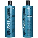 Healthy Sexy Hair Sulfate-Free Soy Moisturizing Shampoo and Conditioner Liter Duo (Tamaño: 33.8 Oz Duo)