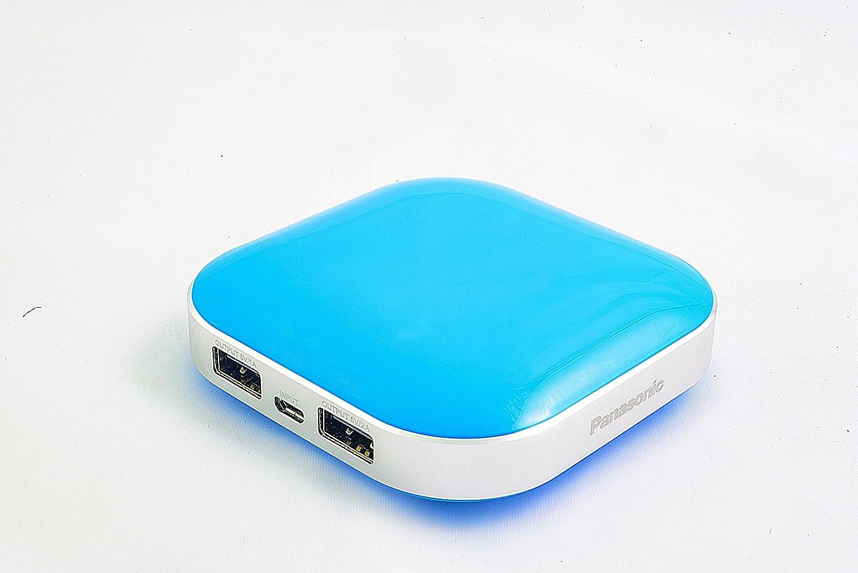 Amazon: Panasonic Smart Power alpha 9000 MAH Power Bank -Blue @ Rs.885/-