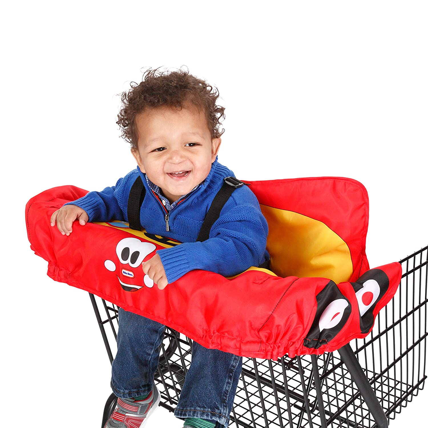 Little Tikes Cozy Coupe Shopping Cart Cover, Red/Yellow/Blue