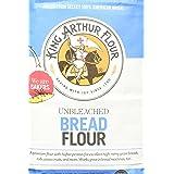King Arthur Flour - Unbleached Bread Flour, 80 Ounce (Pack of 2) (Tamaño: 80oz Bag)