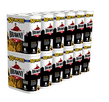 Amazon - 24 x Brawny Giant Roll Paper Towel, Pick-A-Size - $23.06
