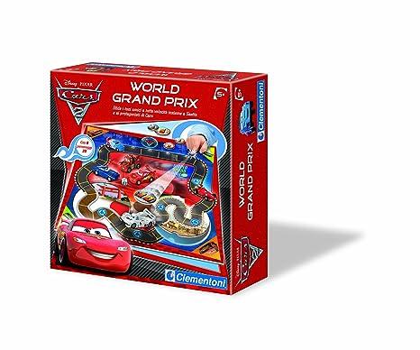 Cars 2 world grand prix - Jouets Jeux de société CLEMENTONI
