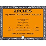Arches Watercolor Paper Block, Rough, 9