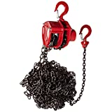 Coffing LHH-1/2B20FT LHH Model Hand Pull Chain Hoist, 1/2 ton Capacity, 20' Lift Height (Tamaño: 55 pounds)