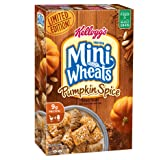 Kellogg's Frosted Mini Wheats Pumpkin Spice, 15.5 Ounce Box (Pack of 4)