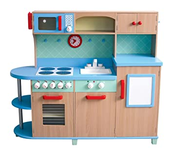 Amazon.com: GuideCraft All - In - One Play Kitchen: Kitchen & Dining