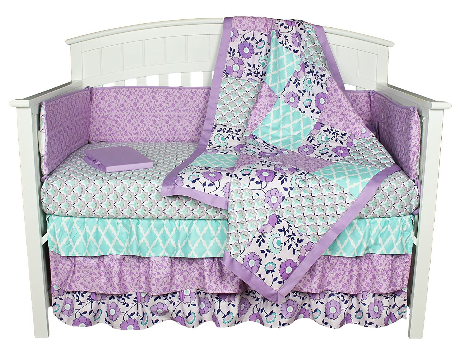 The Peanut Shell Zoe Baby Bedding