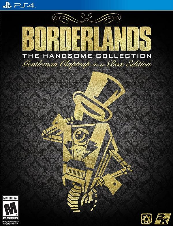 Borderlands the Handsome Collection Gentleman Claptrap Edition - PlayStation 4