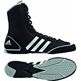 ADIDAS Box Rival II Boxing Shoes, Black, US6.5