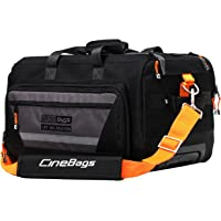 CineBags CB-40 High Roller Camera Bag and Notebook Case (Charcoal/Black)