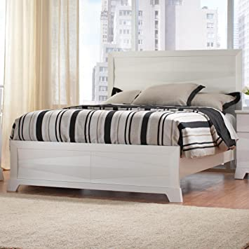 Asymmetrical Facet Design Bed (California King - 90 in. L x 79 in. W x 54 in. H)