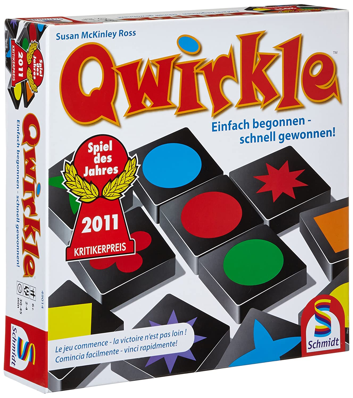 Schmidt Spiele 49014 - Qwirkle Legespiel,