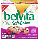 belVita Soft Baked Mixed Berry Breakfast Biscuits (5 Count Box, 8.8 oz)