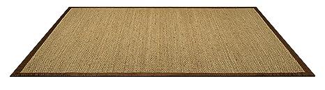 HMT 136 140 Seagrass Pavimentazione Moquette Rush Mare Beige 200 x 140 x 0.3 cm
