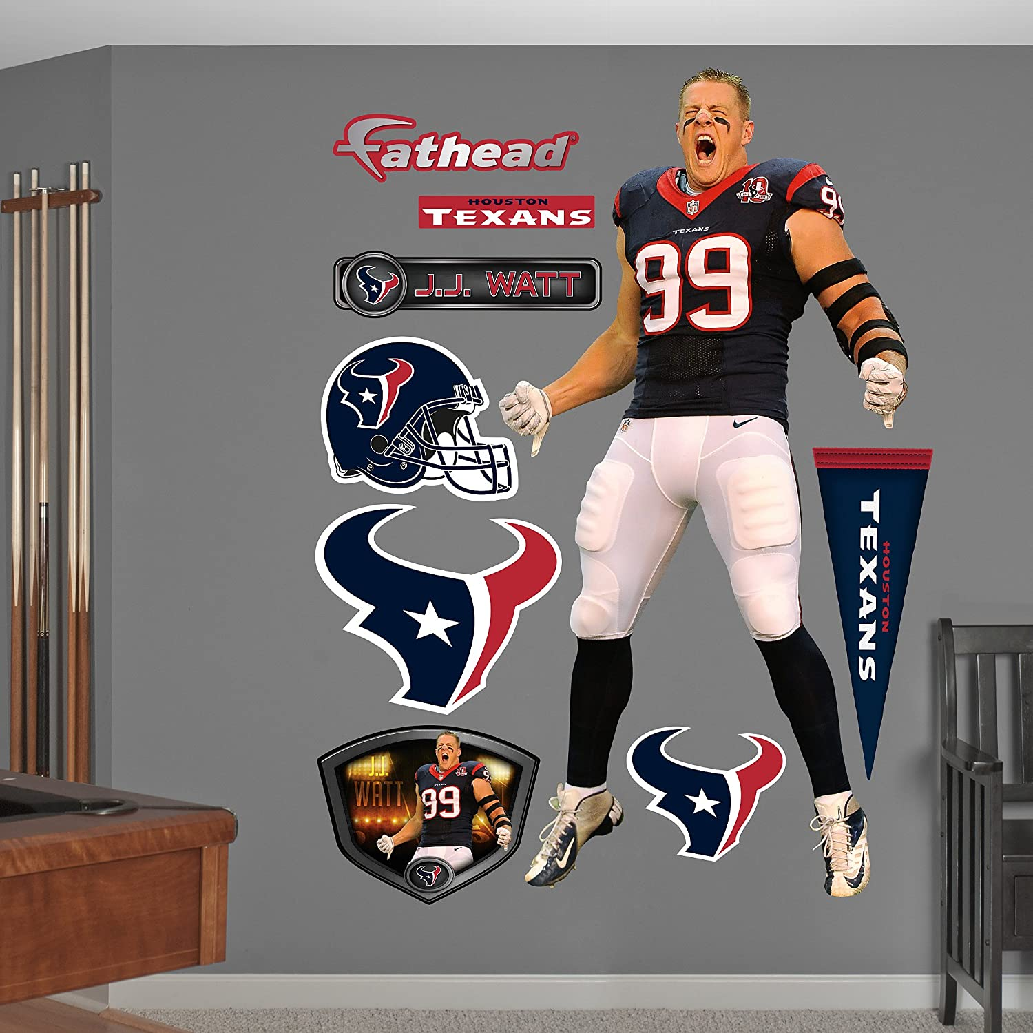 Amazon.com: Houston Texans - NFL / Décor / Home & Kitchen: Sports