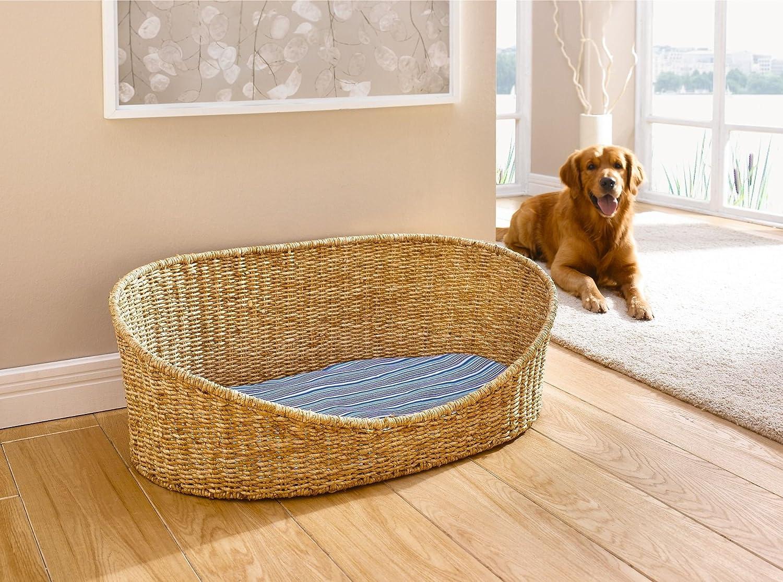 Hundekorb mit Kissen, groß online bestellen