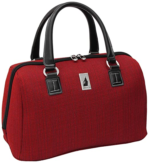 London Fog Luggage Chatham 360 Collection 16 Inch Satchel