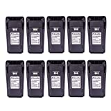10 Pack Maxtop AMCL4497-2500-D NNTN4497 2500mAh High Capicity Liion Battery for Motorola CP200 MOTOTRBO CP200D EP450 (Color: 2500 mAh Li-ion Battery, Tamaño: 10 Pieces)