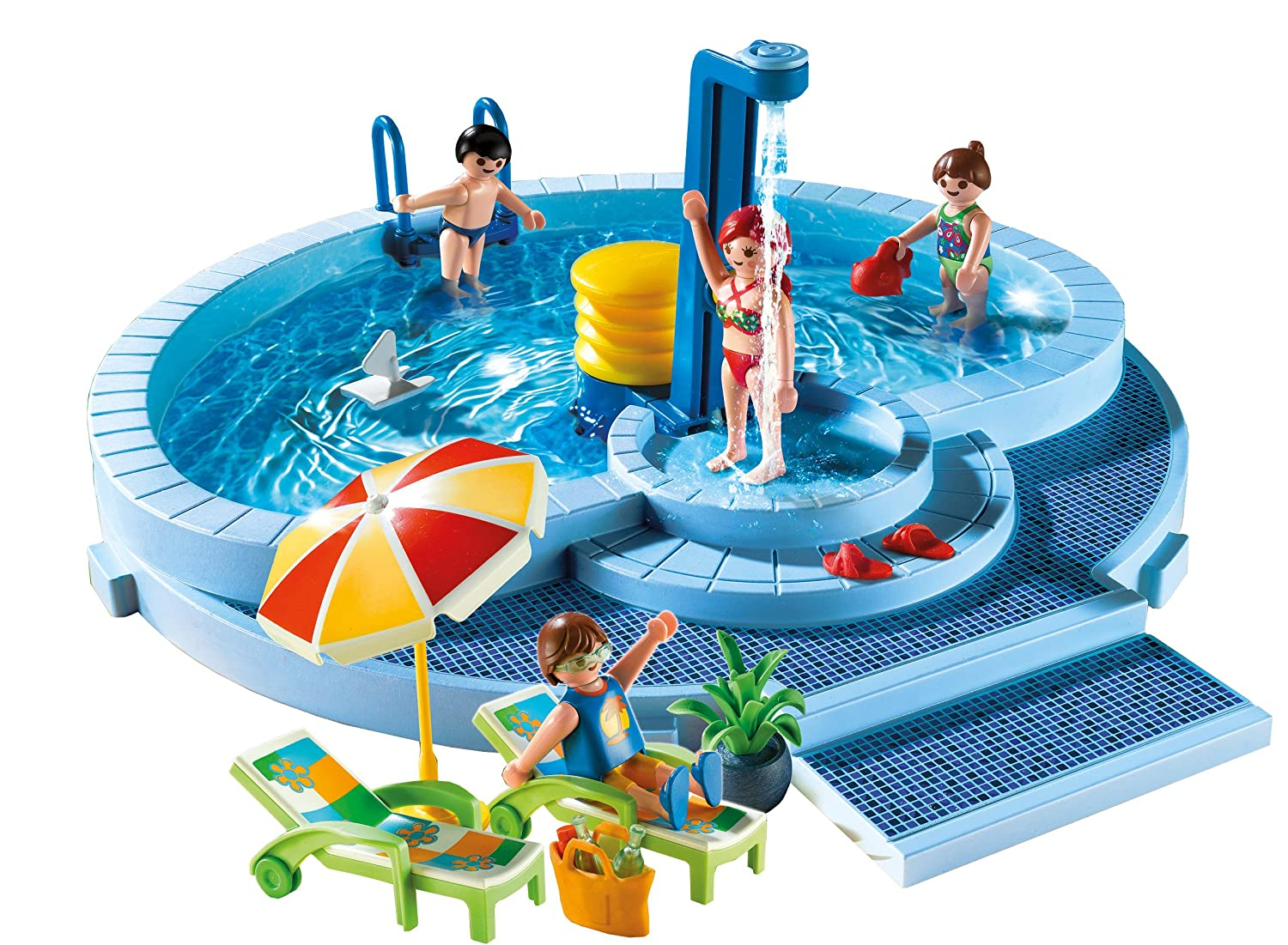 playmobil 5964 summer swimming pool great gift ebay