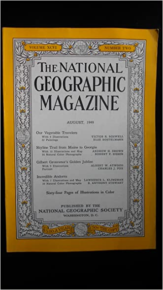 National Geographic Magazine, August 1949 (Vol. 96, No. 2)