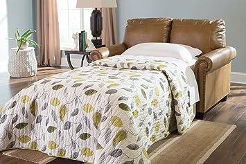 Lottie DuraBlend Almond Twin Sofa Sleeper