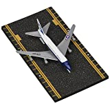 Hot Wings Air Force One with Connectible Runway Die Cast Model Airplane, White/Blue/Red (Color: White/Blue/Red)