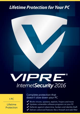 VIPRE Internet Security 2016 PC Lifetime Security [Download]