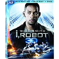 I Robot : Two-Disc Combo Blu-ray 3D/ Blu-ray + DVD