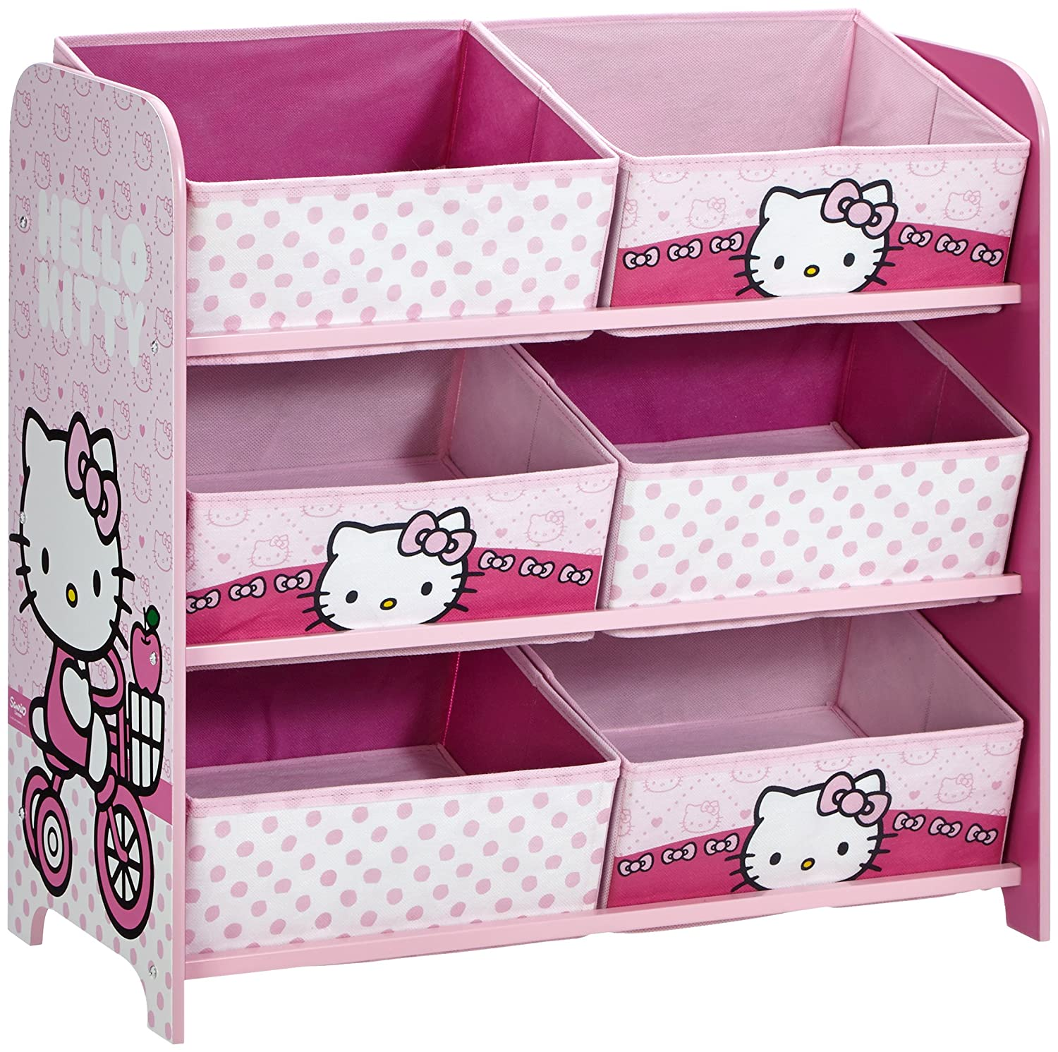 great meuble chaussure hello kitty with meuble rangement jouet fille. Black Bedroom Furniture Sets. Home Design Ideas