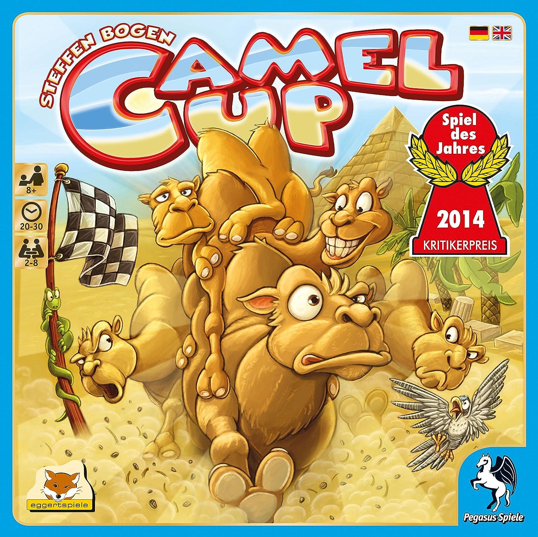Pegasus Spiele 54541G - Camel Up - Spiel