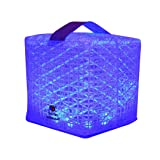 Solight Design Merlin SolarPuff Portable LED Solar Lantern, Color Changing - Red/Green/Blue/Yellow/White/Purple (MerlinPuff1A)