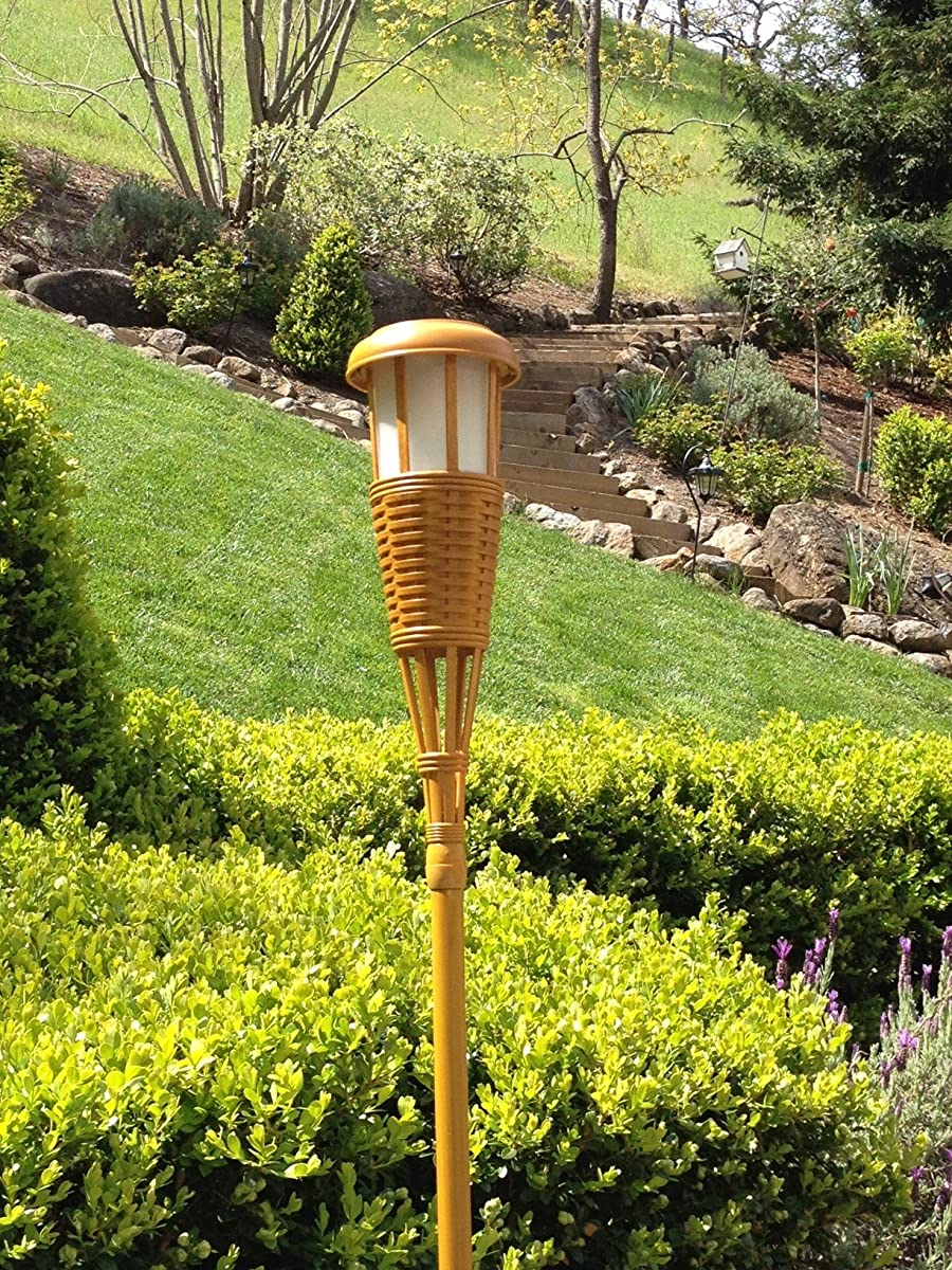 Lighting Solar Flickering LED Tiki Torches