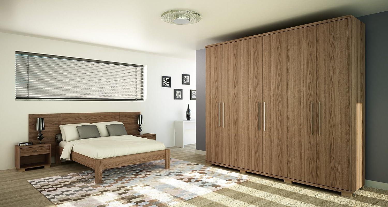 Manhattan Comfort Chelsea 6 Door Wardrobe