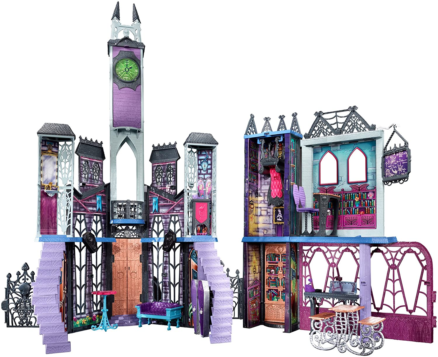 Monster High Deadluxe High School Playset Doll House Large