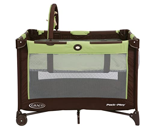 Graco Pack and Play Crib On The Go Playard, Go Green Review