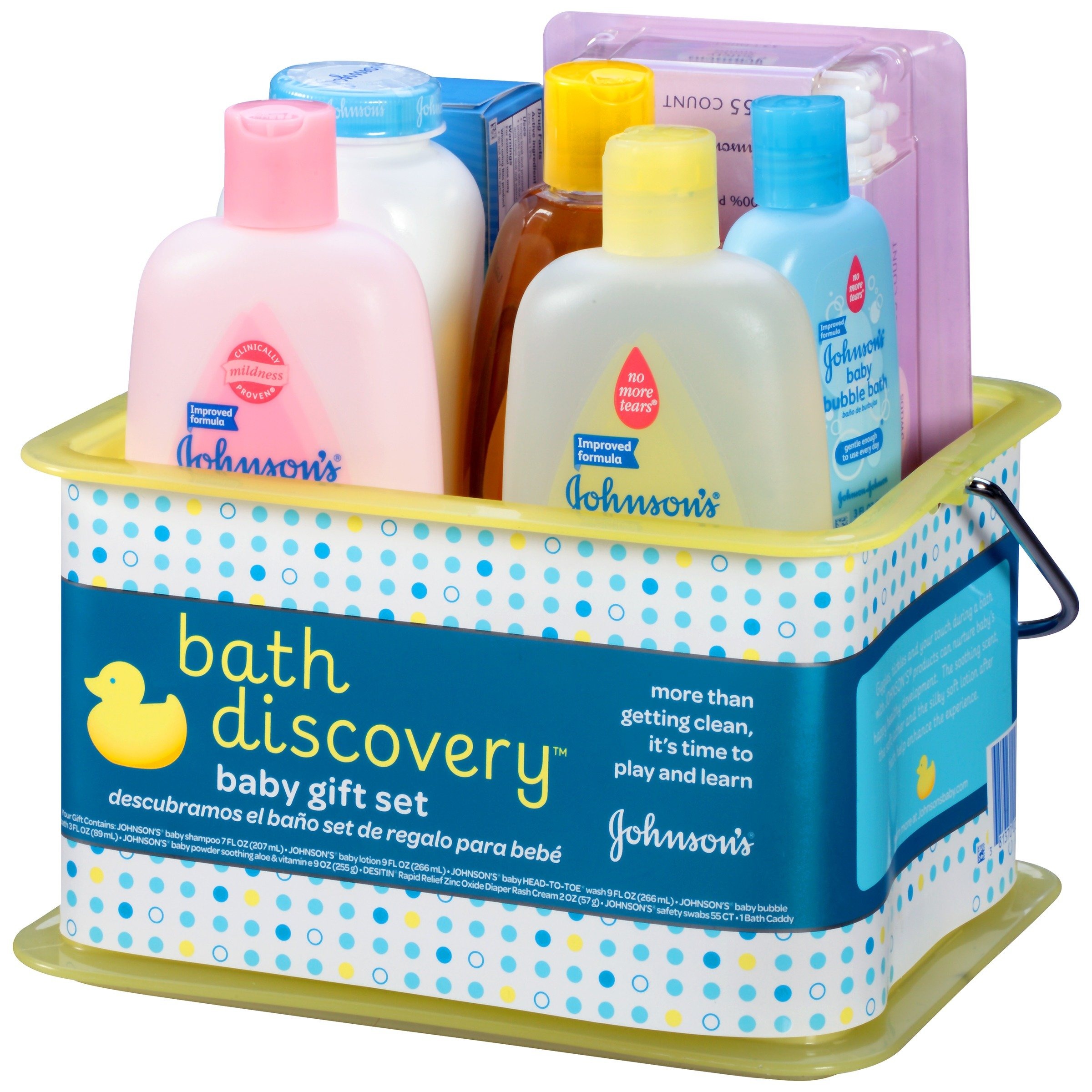 Galleon Johnson S Bath Discovery Baby Gift Set