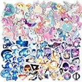 200 PCS Galaxy and Laptop Stickers for Car, Laptop, Skateboard, Luggage, Waterproof Vinyl Decals for Motorcycle, Bicycle, Bumper (Color: 200, Tamaño: mix)