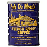 Cafe Du Monde Coffee, French Roast, 13-Ounce (Pack of 3) (Color: Blue, Tamaño: Pack of 3)