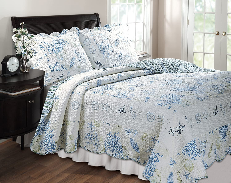 shabby chic beach bedding quilt blue shabby chic bedding